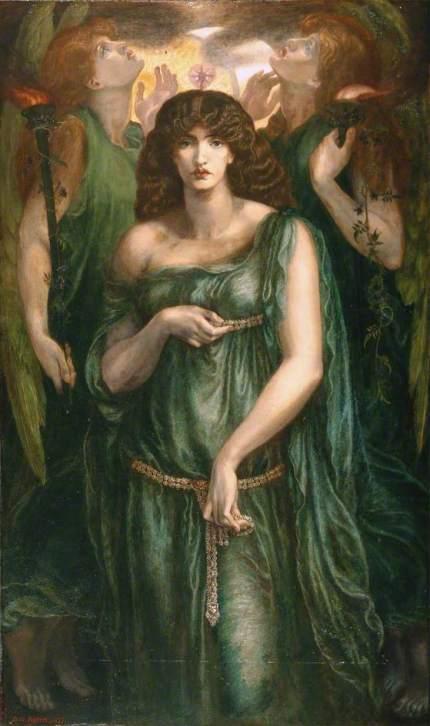 Astarte Syriaca by Dante Gabriel Rossetti (1877)