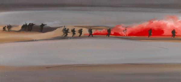 Battle (2010) by Jules George © Jules George