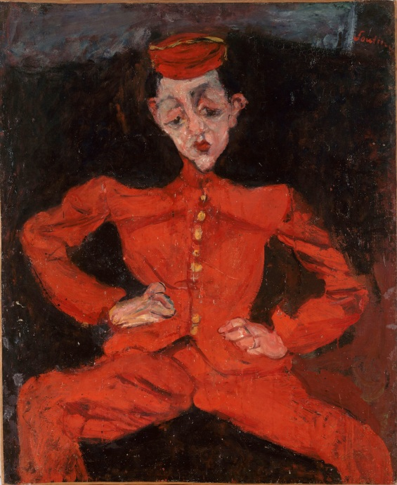 Bellboy (c.1925) Chaim Soutine © Courtauld Gallery, Centre Georges Pompidou