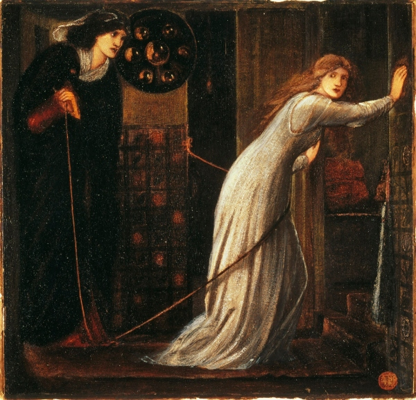 Fair Rosamund and Queen Eleanor (1862) by Sir Edward Burne-Jones © Tate, London