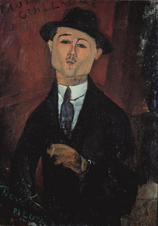 Portrait of Paul Guillaume, Novo Pilota (1915) Musée de l'Orangerie, Paris. Collection Jean Walter et Paul Guillaume