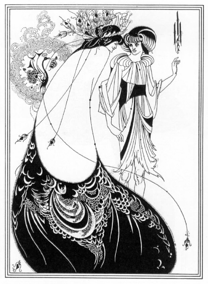 Illustration for Salome by Aubrey Beardsley (1894)