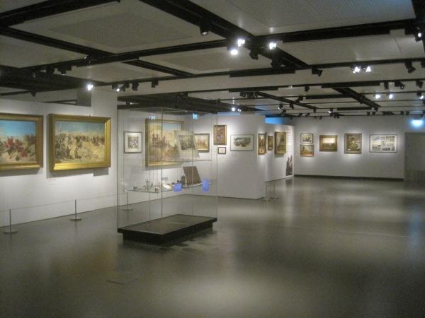 Inside the War Paint exhibition