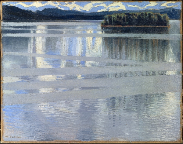 Lake Keitele (1905) by Akseli Gallen-Kallela © The National Gallery, London