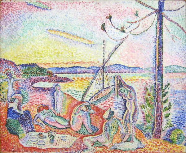 Luxe, calme et volupté (1904) by Henri Matisse