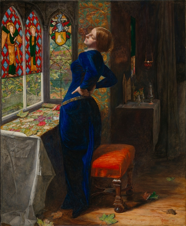 Mariana (1851) by John Everett Millais © Tate, London
