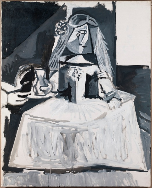 Las Meninas (Infanta Margarita María) 1957 by Pablo Picasso © Succession Picasso / DACS, London 2017 / Photo: Museu Picasso, Barcelona. Photograph: Gasull Fotografia
