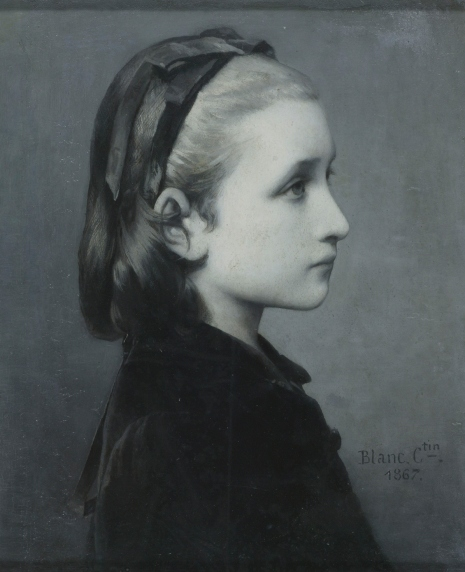 Head of a Girl (1867) by Célestin Joseph Blanc © Victoria and Albert Museum, London