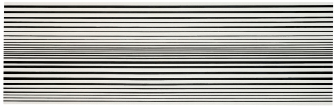 Horizontal Vibration (1961) by Bridget Riley © Bridget Riley 2017. All rights reserved
