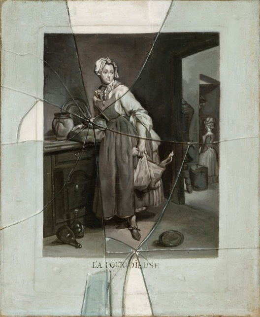 Back from the Market (La Pourvoyeuse), about 1770 by Etienne Moulinneuf after Jean-Siméon Chardin. Los Angeles County Museum of Art, California © Museum Associates / LACMA