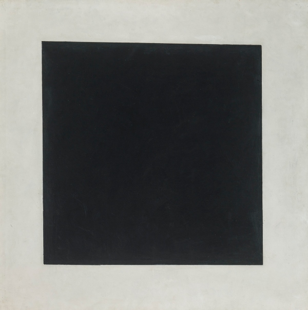 Black Square (1929) by Kazimir Malevich © The State Tretyakov Gallery, Moscow