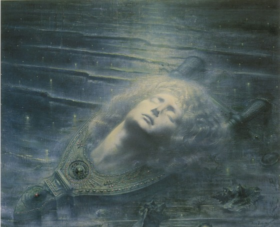Orpheus by Jean Delville (1893)