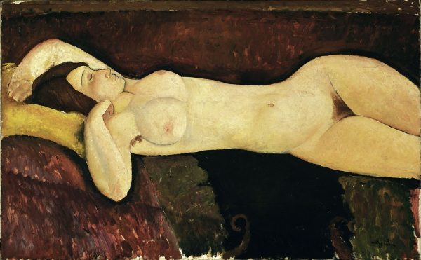 Reclining Nude (1919) Museum of Modern Art, New York