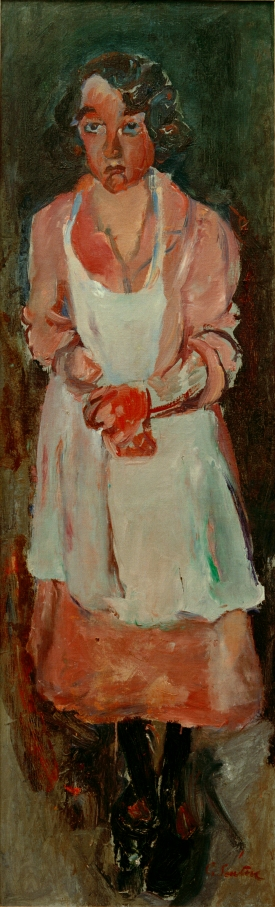 The Chambermaid (c.1930) by Chaim Soutine, Courtesy Kunstmuseum Lucerne