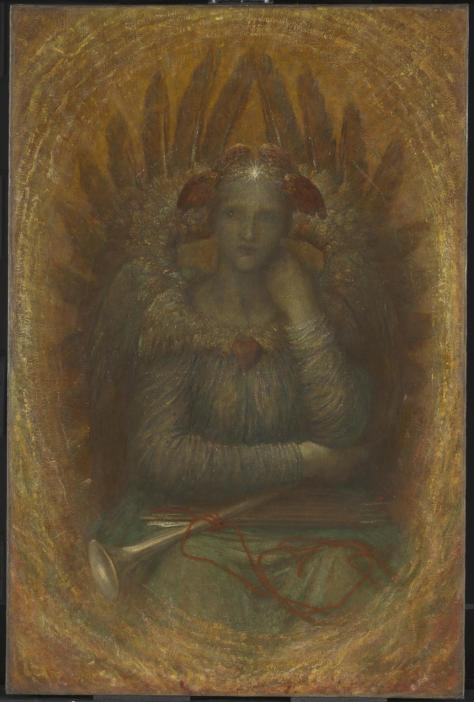 The dweller of the innermost by Watts (1886)