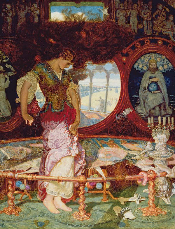 The Lady of Shalott (1886-1905) by William Holman Hunt © Manchester City Galleries/Bridgeman Images