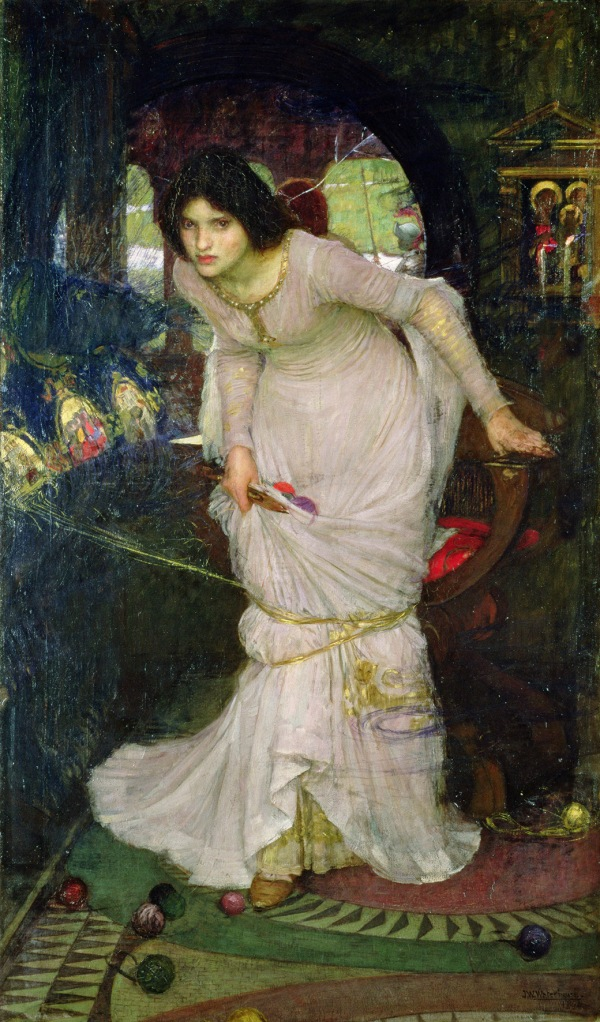 The Lady of Shalott (1888) by John William Waterhouse © Leeds Museums and Galleries (Leeds Art Gallery) Bridgeman Images