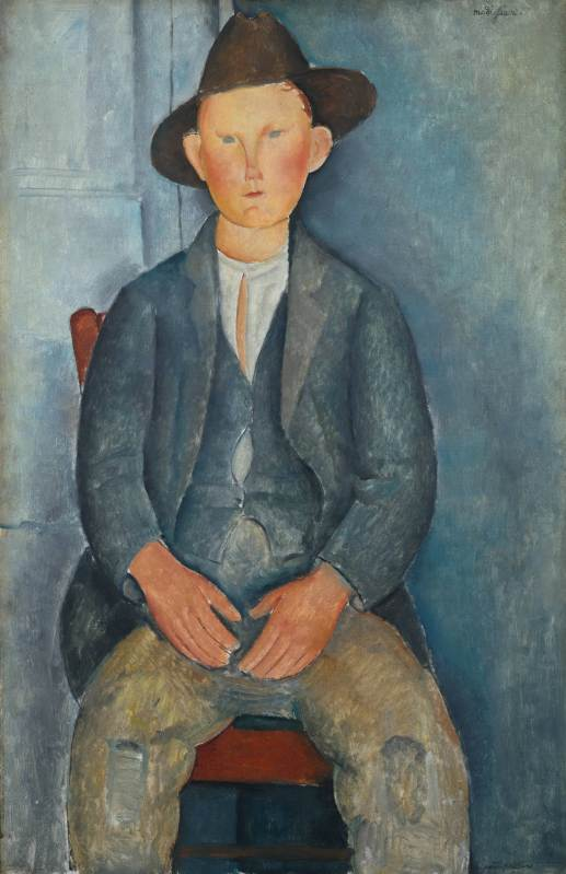 The Little Peasant (c.1918) Tate