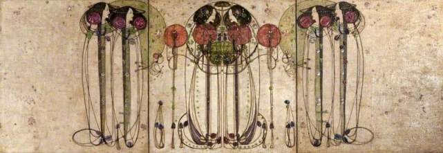 The Wassail (1900) by Charles Rennie Mackintosh