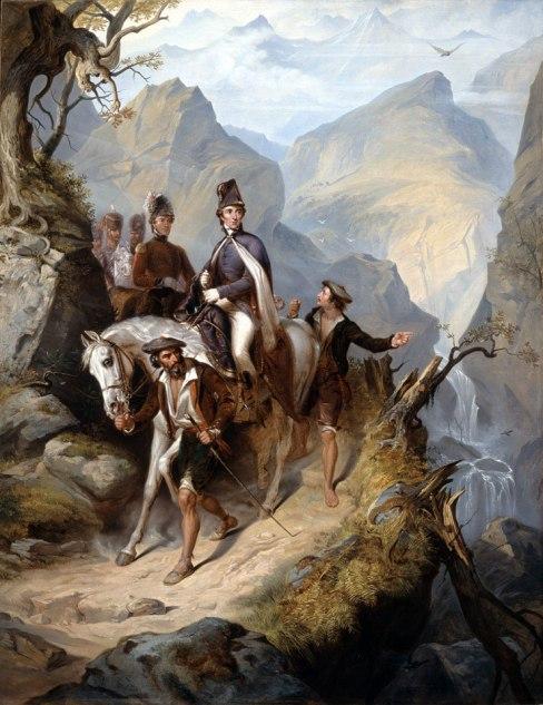 Wellington at Sorauren, 27 July 1813 by Thomas Jones Barker (1853) © National Army Museum