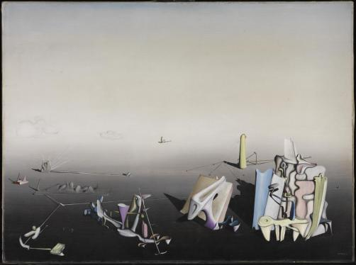 Azure Day by Yves Tanguy (1937)