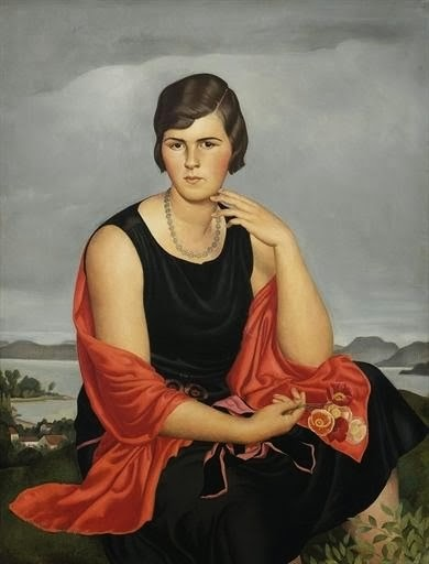 Woman in a black dress (1926)