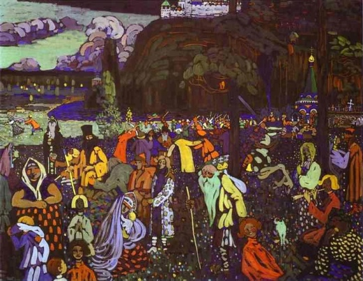 Colourful Life by Wassily Kandinsky (1907)