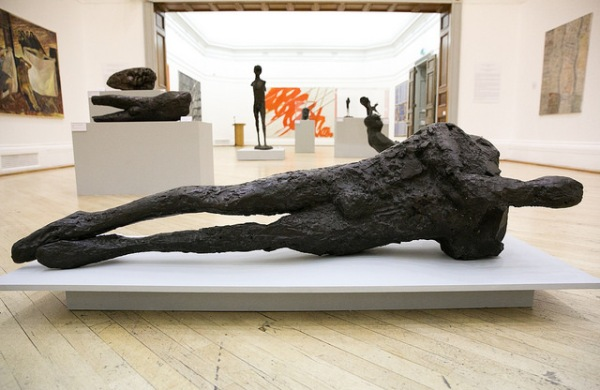 Sculptures by Elisabeth Frink at the RWA. Photo by Lisa Whiting
