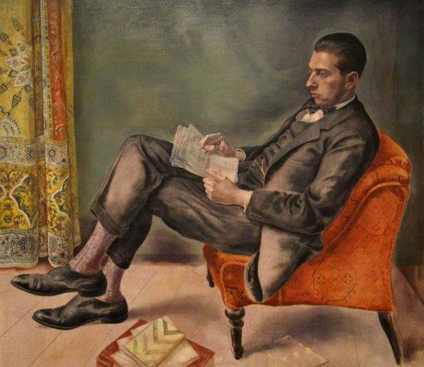 Portrait of Dr Felix J. Weil by George Grosz (1926)