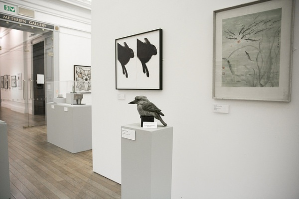 Installation view of Women of the RWA