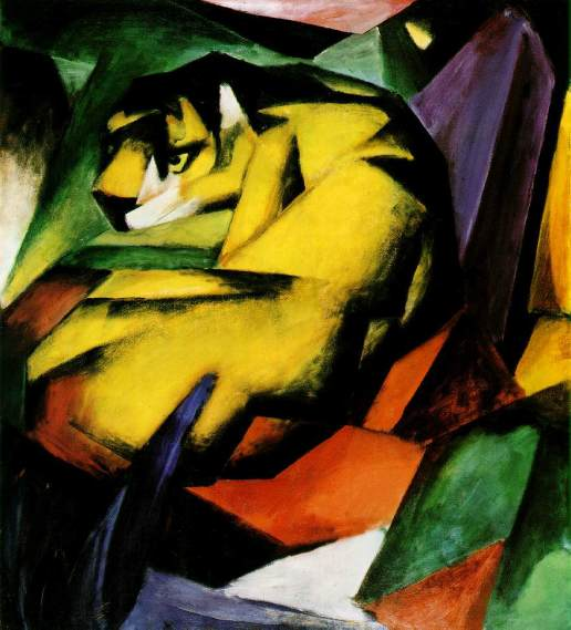 Tiger by Franz Marc (1912)