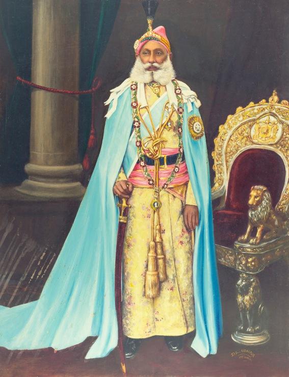 Maharana Fateh Singh of Udaipur (1849-1930) by Bourne & Shepherd © Alkazi Foundation for the Arts