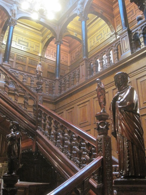 The staircase at Two Temple Place