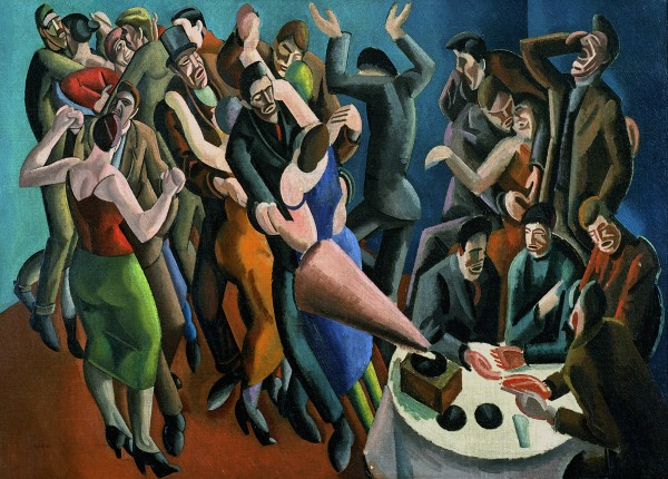 The Dance Club (The Jazz Party) 1923 by William Patrick Roberts © Estate of John David Roberts