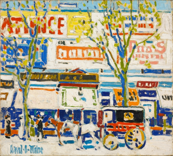 Billboards by David Milne (c. 1912) National Gallery of Canada, Ottawa © The Estate of David Milne