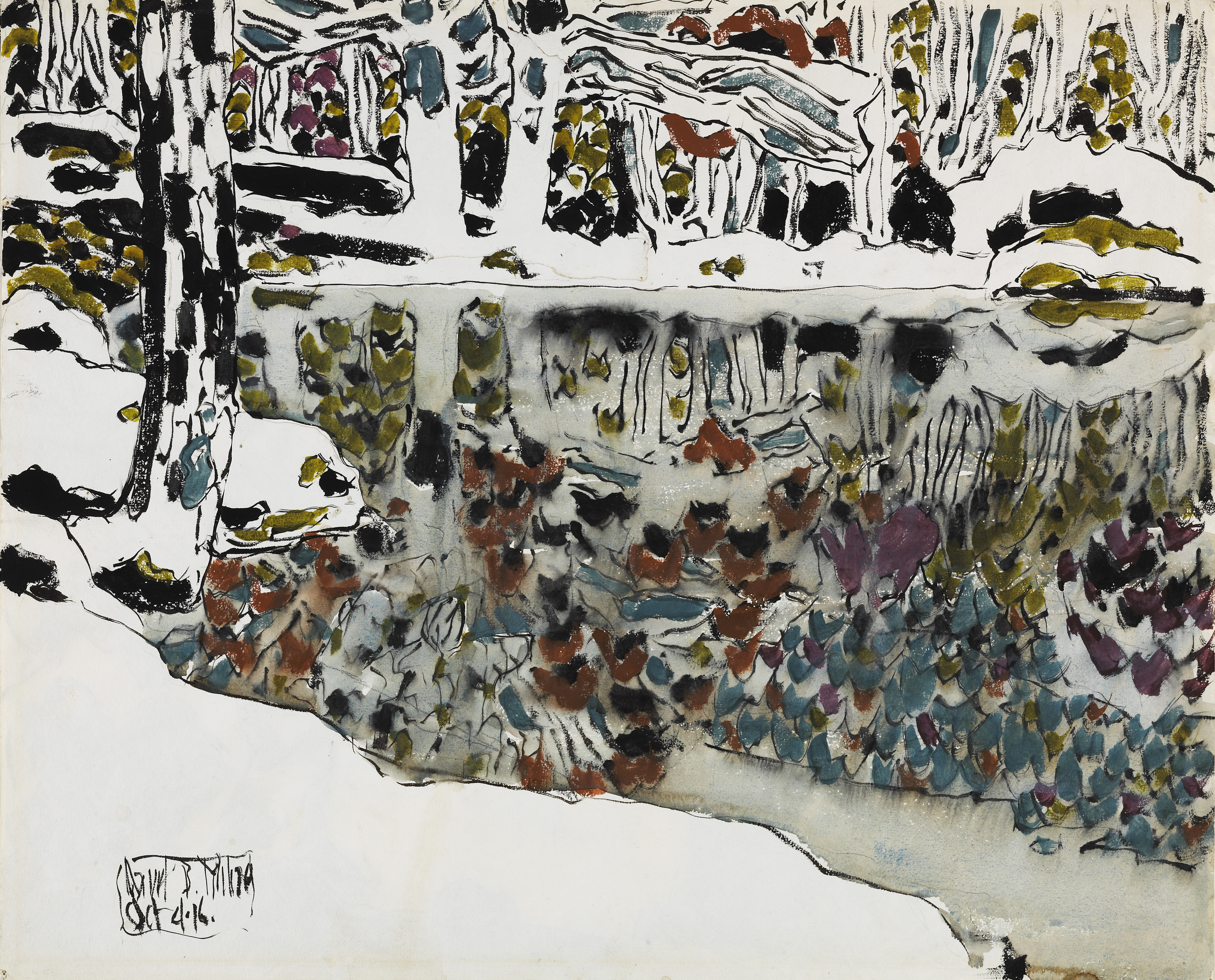 Canada Books Boots Japvtwinenginediagramjpg Bishops Pond Reflections By David Milne 1916 National Gallery Of