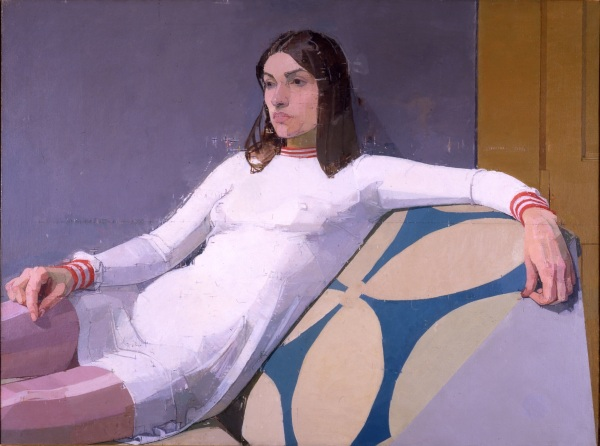 Georgia by Euan Uglow (1973) © The Estate of Euan Uglow