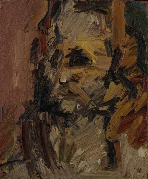 Head of Jake by Frank Auerbach (1997) © Frank Auerbach, courtesy Marlborough Fine Art