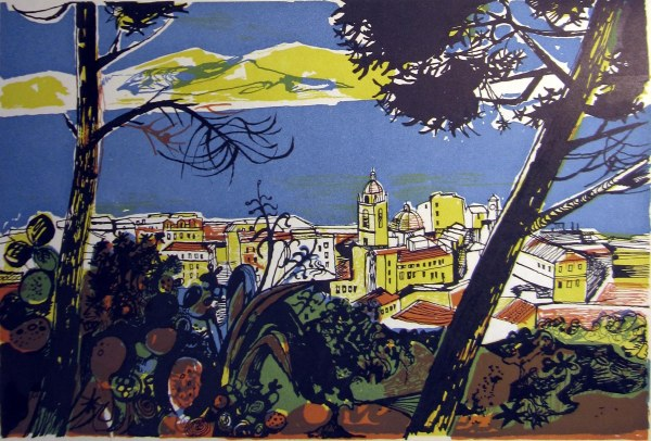 Book illustration for 'Time Was Away' by John Minton (1947)