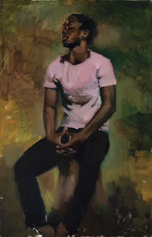 Coterie Of Questions by Lynette Yiadom-Boakye (2015) © Lynette Yiadom-Boakye