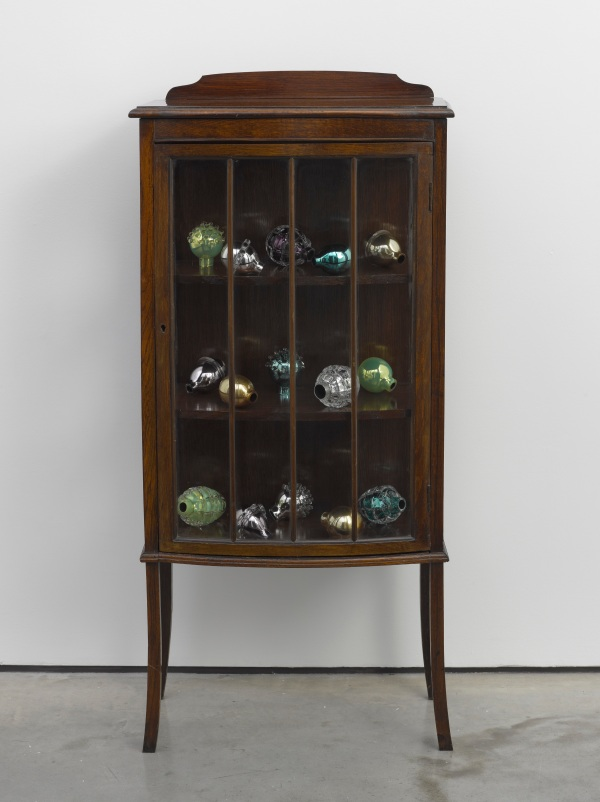 Natura morta (bow-fronted cabinet) by Mona Hatoum (2012) © Mona Hatoum / Photo © White Cube (Ben Westoby)