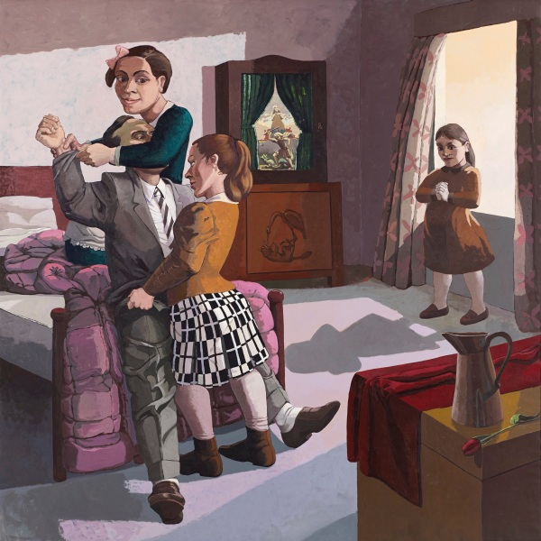 The Family by Paula Rego (1988) Marlborough International Fine Art © Paula Rego
