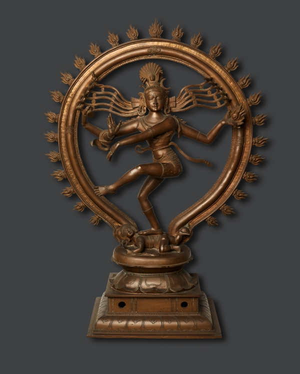 Shiva Nataraja Chennai, India (1800-1900) As Nataraja, Hindu deity Shiva performs a perpetual dance of creation and destruction. © Religionskundliche Sammlung der Universität Marburg, Germany