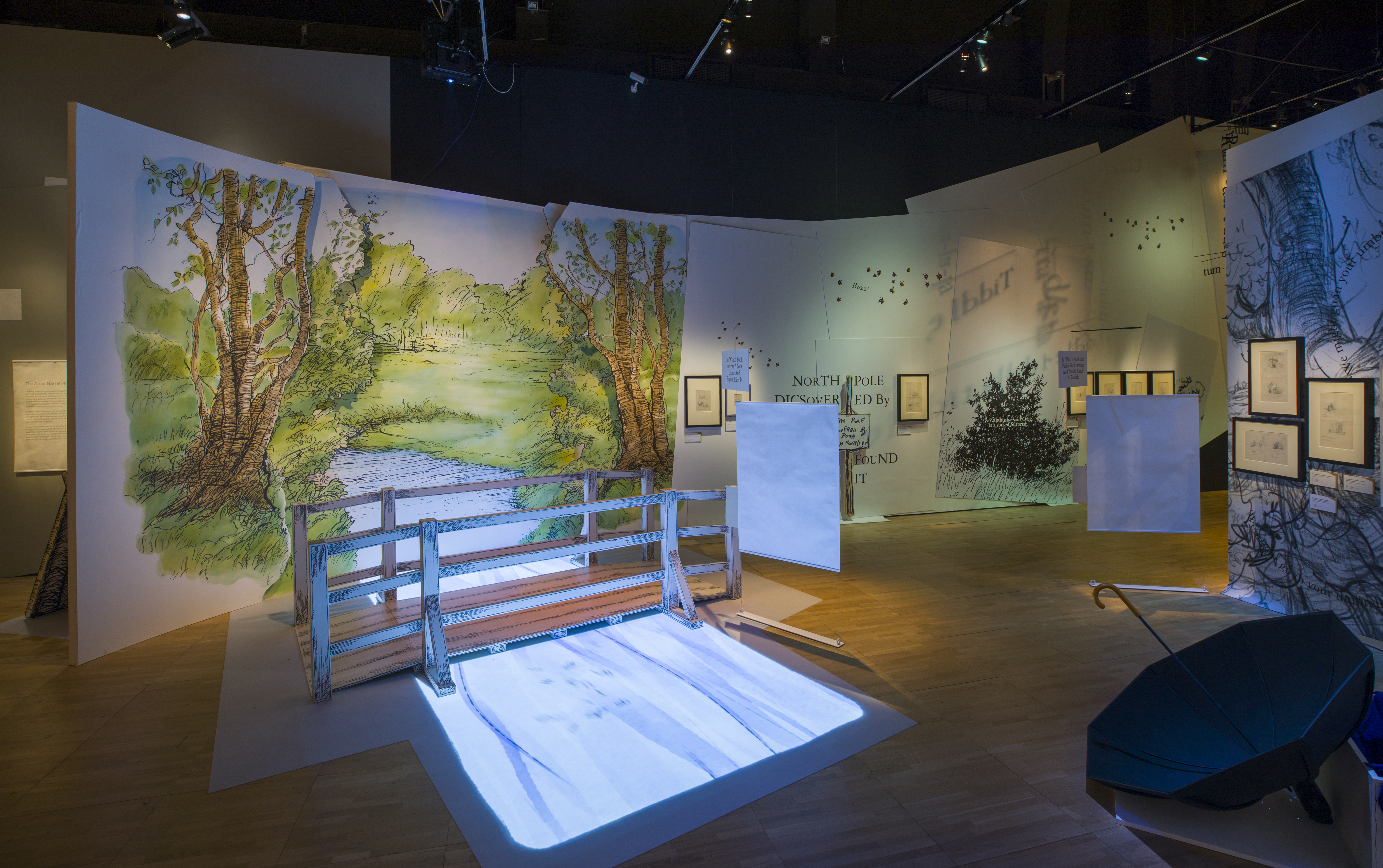 Installation View Of Winnie The Pooh Exploring A Classic © Victoria And  Albert Museum