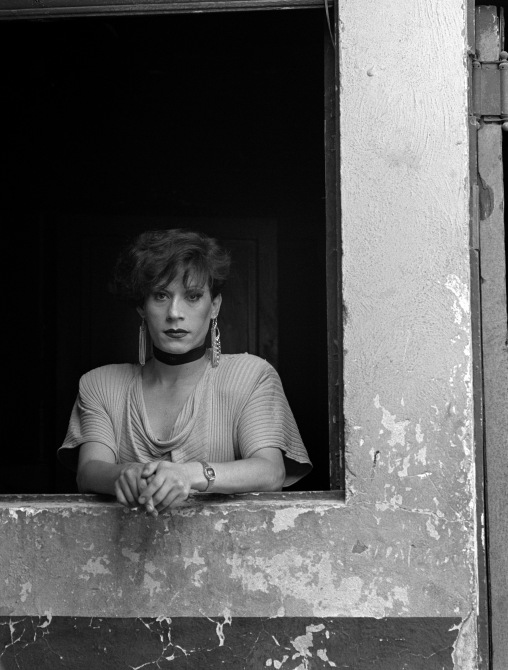 Evelyn, Santiago from the series La Manzana de Adán (Adam's Apple), 1983 by Paz Errázuriz © Paz Errázuriz / Courtesy of the artist