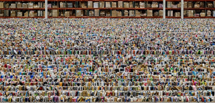Amazon, 2016 by Andreas Gursky © Andreas Gursky/DACS, 2017. Courtesy: Sprüth Magers