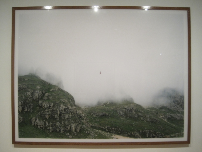 Dolomites cable car 1987 by Andreas Gursky