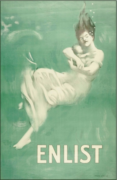 'Enlist' by Fred Spear (1915)