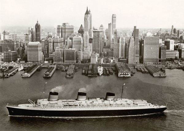 Normandie in New York (1935-39) Collection French Lines