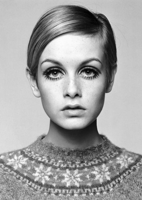 Twiggy (1966) by Barry Lategan